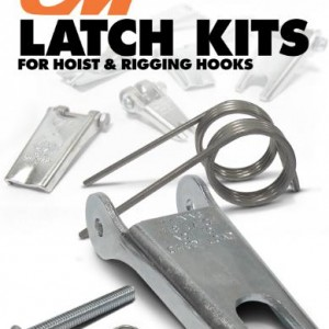 Columbus McKinnon is now offering 35 of its most popular latch kits for hoist and rigging hooks in economical, easy-to-order bulk packaging. Hoist Latch Kits and Rigging Latch Kits will be available in bulk packages of 50 and 100 units and will feature smart part numbers, making them easy to order. Bulk latch kits are available through the Columbus McKinnon network of distributors. (PRNewsFoto/Columbus McKinnon Corporation)