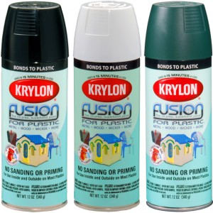 fusion spray for plastic